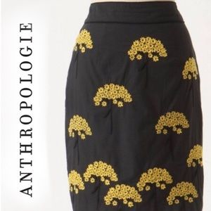 ANTHROPOLOGIE floreat skirt